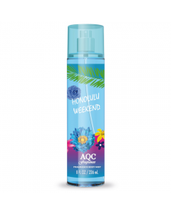 AQC Fragrances Body Mist Honolulu Weekend 236ml