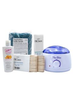 Vizo Silk & Peel Wax At Home Kit