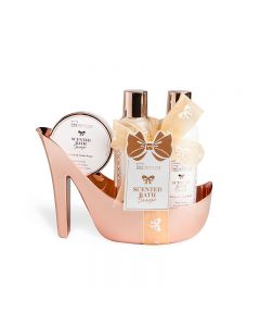 IDC Institute Scented Bath Set - Shoe Shape