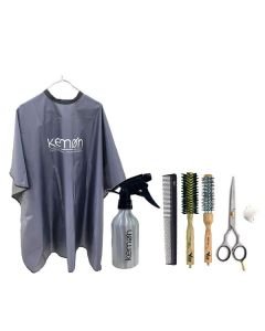 Vibe Professional Women's Personal Salon Carry-On Hair Cutting Essentials Kit