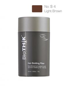 BioTHIK Hair Building Fiber Light Brown S4 (18g)
