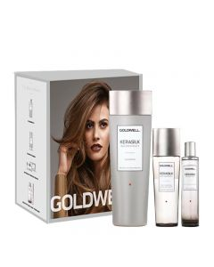 Goldwell Kerasilk Reconstruct Kit - Shampoo 250ml + BlowDry Spray 125ml + Perfume 50ml