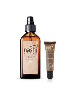 Nashi Argan Promo Kit (Oil 100ml+Lip Balm 12ml)