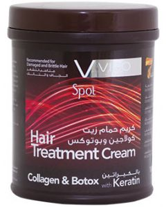 Vizo Spot Hair Treatment Cream Botox W/Keratin 1000Ml