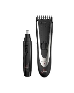 Ga.Ma Italy Professional Hair Clipper & Nose Hair Trimmer Combo
