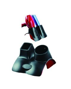 Vibe Professional Hair Dryer/Iron Holder Black