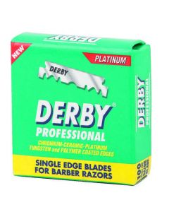 Derby Professional Single Edge Razor Blade 100Pcs