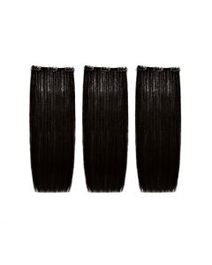 SHE Easy Volume Clips Natural Hair Extension 50/55 - 3pc - 1B