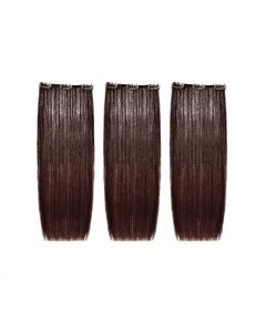 SHE Easy Volume Clips Natural Hair Extension 50/55 - 3pc - 4