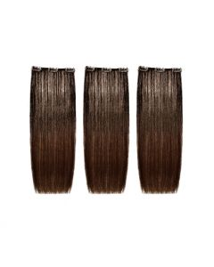 SHE Easy Volume Clips Natural Hair Extension 50/55 - 3pc - 8