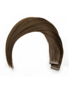 Seamless1 Remy Tape Hair Extensions 20 - 21 Inches - 20pc - Espresso Superior