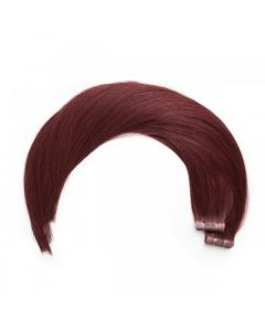 Seamless1 Remy Tape Hair Extensions 20 - 21 Inches - 20pc - Merlot Superior