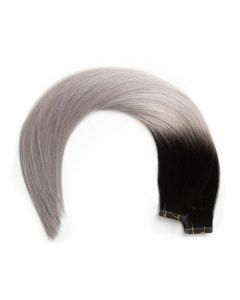 Seamless1 Remy Tape Hair Extensions 20 - 21 Inches - 20pc - Salt n Pepper Superior