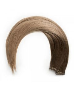 Seamless1 Remy Tape Hair Extensions 20 - 21 Inches - 20pc - Cappuccino Superior