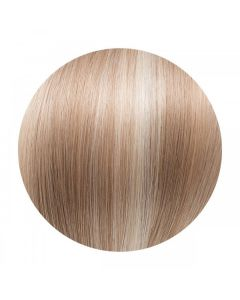 Seamless1 Clip - in Human Hair Extensions - Milkshake/Cinnamon - 5pc Set