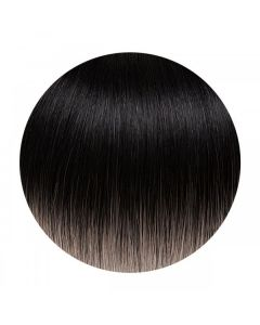 Seamless1 Weft Human Hair Extensions 20 - 22 Inches - Salt n Pepper