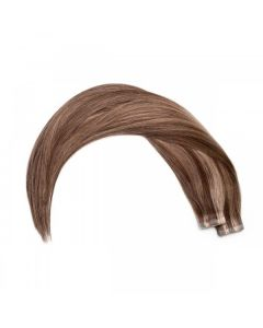 Seamless1 Remy Tape Hair Extensions 20 - 21 Inches - 20pc - Velvet/Mocha