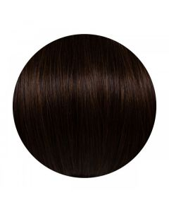 Seamless1 Weft Human Hair Extensions 20 - 22 Inches - Dark Chocolate