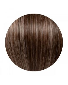 Seamless1 Clip - in Human Hair Extensions - Velvet/Mocha - 5pc Set