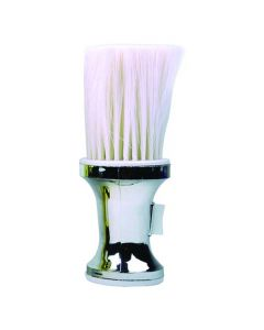 Vibe Professional Neck Brush With Powder Dispencer Silver