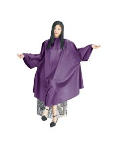 Vibe Professional Cutting Cape Purple With Sleeve