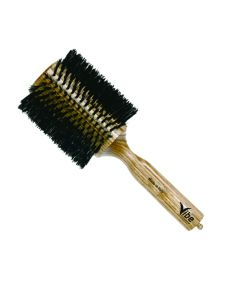 Vibe Professional Triangolo Hair Brush Round Re-inforced Bristles 85mm