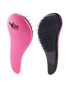 Vibe Professional Detangling Brush Red & Black