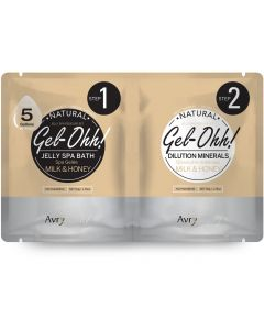 AvryBeauty Jelly Spa Foot Soak Milk & Honey