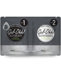AvryBeauty Jelly Spa Pedi Bath Charcoal