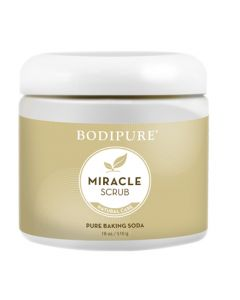 Bodipure Miracle Foot Scrub with Baking Soda 510g