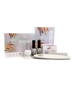 Orly Builder In A Bottle Intro Kit Soak - off Sculpting Gel for Nail Extentions