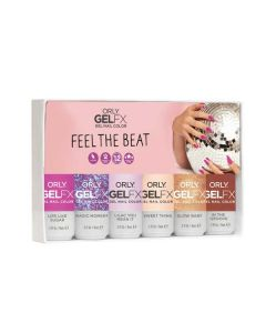 Orly GelFX Feel The Beat Collection 6 pieces set