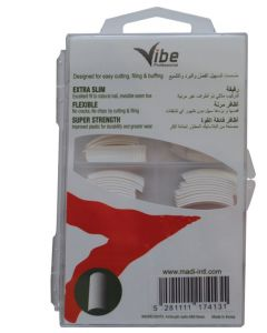 Vibe Professional Royal Fancy Nail Tips White