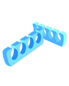 Vizo Hicleen Double Color Toe Separator 6Pairs