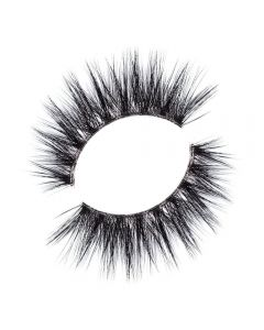 Lilly Lashes Strip lashes 3D Faux Mink Invisible Band Collection Delara
