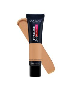 LOreal Paris Infallible 24hr Freshwear Foundation 260 Golden Sun