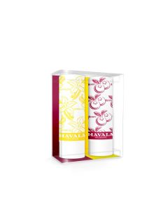 Mavala Tinted Lip Balms Vanilla & Berry Duo Kit