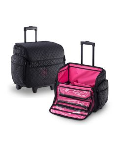 Masters Professional Nylon Zipper Trolley Case