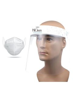 Vizo Hicleen All Round Protection (Face Shield 10pcs + KN95 Mask 20pcs)