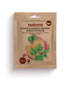 Natura Potato & Parsley Under Eye Sheet Mask 3pcs