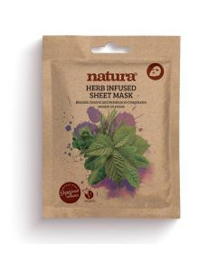 Natura HERB SHEET MASK (single pouch)