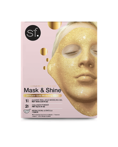 Skin Forum 24 Karat Gold Modeling Mask with bowl & spatula