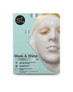 Skin Forum Frosted Pearl Modeling Mask with bowl & spatula