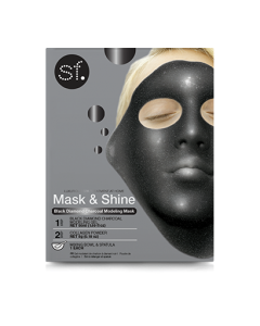 Skin Forum Black Diamond Charcoal Modeling Mask (with bowl & spatula) 50ml & 5gr