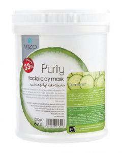 Vizo Sensia Facial Clay Mask Cucumber 1200G
